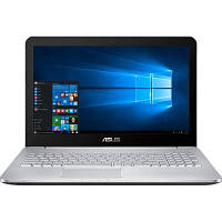 Asus N752VX (N752VX-GB156T) UHD Win10 Gray + сумка