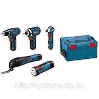 BOSCH GSR+GDR+GWI+GOP+CLI 10,8V LI Set Monster Kit Professional