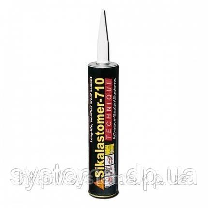 Не высыхающий герметик SikaLastomer®-710, белый, 300 мл, фото 2