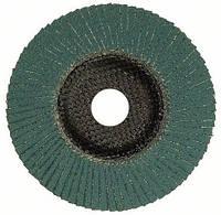Лепестковый шлифовальный круг по нержавейке Best for Inox, угловое исполнение 125х22,23, P80