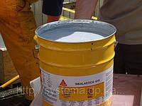 Кровельная мембрана, жидкая полиуретановая гидроизоляция для крыш RAL 7045, 20,7 кг - Sikalastic®-618