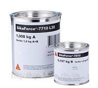 SikaForce®-7710 L 35 (A+B) - Двухкомпонентный полиуретановый клей для сборки сэндвич-панелей, 1кг