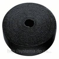 Нетканый шлифматериал (шлифлента) BOSCH для металла, пластика и др. , рулон 115 мм х 10 м