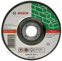 Отрезной абразивный круг BOSCH, прямой, по камню 125х22,3х2,5 мм