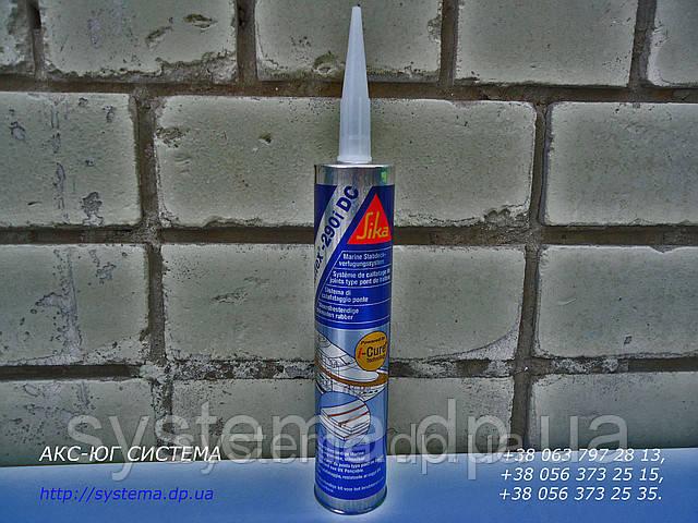 Sikaflex® 290 DC i-Cure®, ноая формула. Палубный герметик, черный, 300 мл