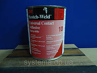 Адгезив повітряної сушки 3M™ Scotch-Weld™ 10 - контактний клей, 1 літр