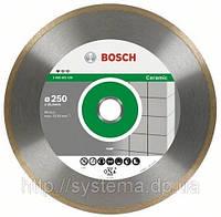 Алмазный отрезной круг Standard for Ceramic для настольн. пил 250х30/25,40*х1,6 мм