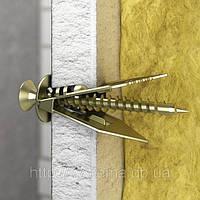 WALRAVEN BIS GOLD® - Забивной дюбель для гипокартона с саморезом 4х30 мм