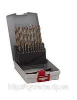 Наборы сверл по металлу из 19 предм. ProBox HSS-Co, DIN 338 (легирование кобальтом)