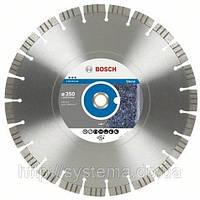 BOSCH Best for Stone, 350 мм - Алмазный отрезной круг