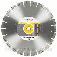 BOSCH Best for Universal and Metal, 350 мм - Алмазный отрезной круг