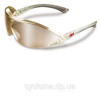 3M™ 2844 - Очки защитные открытого типа. Зеркальные линзы с защитой от царапин, серебристая оправа.