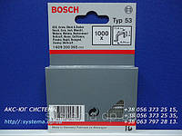 Скобы для степлера BOSCH, 8,0х11,4х0,74 мм, тип 53, 100 шт.