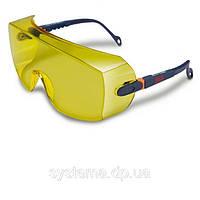 3M™ 2802 - Очки поверх корректирующих, желтые