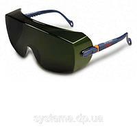 3M™ 2805 - Очки поверх корректирующих, темно-зеленые