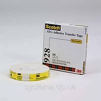 3M™ 928 ATG Клеепереносящая лента,  12,0х0,05 мм, рулон 16,5 м.