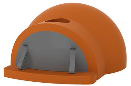 CUPOLINO 60 - Печь для пиццы на дровах. Пиццы: 1 шт, Alfa Pizza Италия, фото 1
