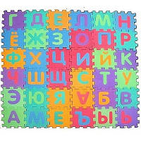 Коврик Мозаика M0378 EVA, русский алфавит, 36 дет