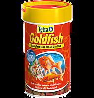 Tetra GOLD FISH 100ml - хлопья для золотых рыбок
