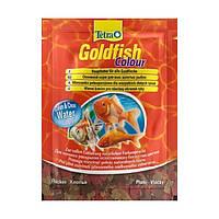 Tetra Gold fish COLOUR 12гр - хлопья для улучшения окраски всех видов аквариумных рыб