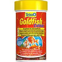 Tetra Gold fish COLOUR 100ml - хлопья для улучшения окраски всех видов аквариумных рыб