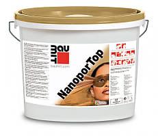 "Baumit Nanopor Top штукатурка нанопор 3K ""барашек""(зерно 3, 2,1.5 мм) 25 кг"