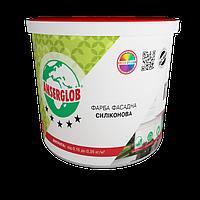 Краска фасадная силиконовая Ансерглоб / Anserglob 14 кг