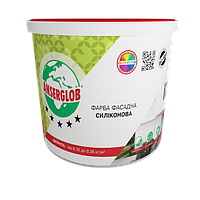 Фарба фасадна силіконова Ансерглоб / Anserglob 14 кг