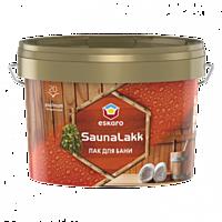 Лак для сауны и бани SAUNA LAKK ESKARO (0,9 - 2,4) л