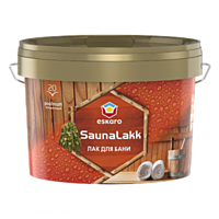 Лак для сауни і лазні SAUNA LAKK ESKARO (2,4) л