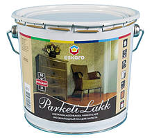 Лак полу-глянец паркетний Эскаро Parketilakk SE 60 / 2,5 л