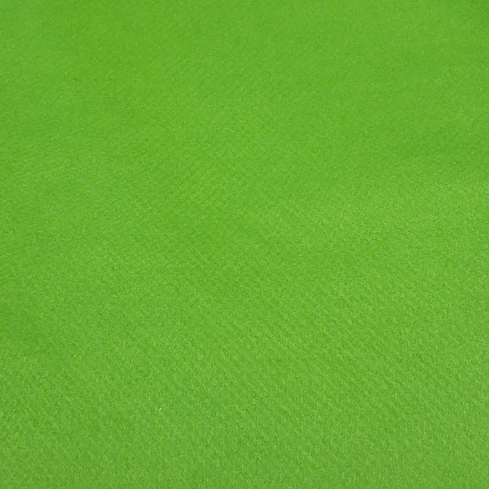Фетр корейский мягкий 1.2 мм, 22x30 см, ТРАВЯНОЙ