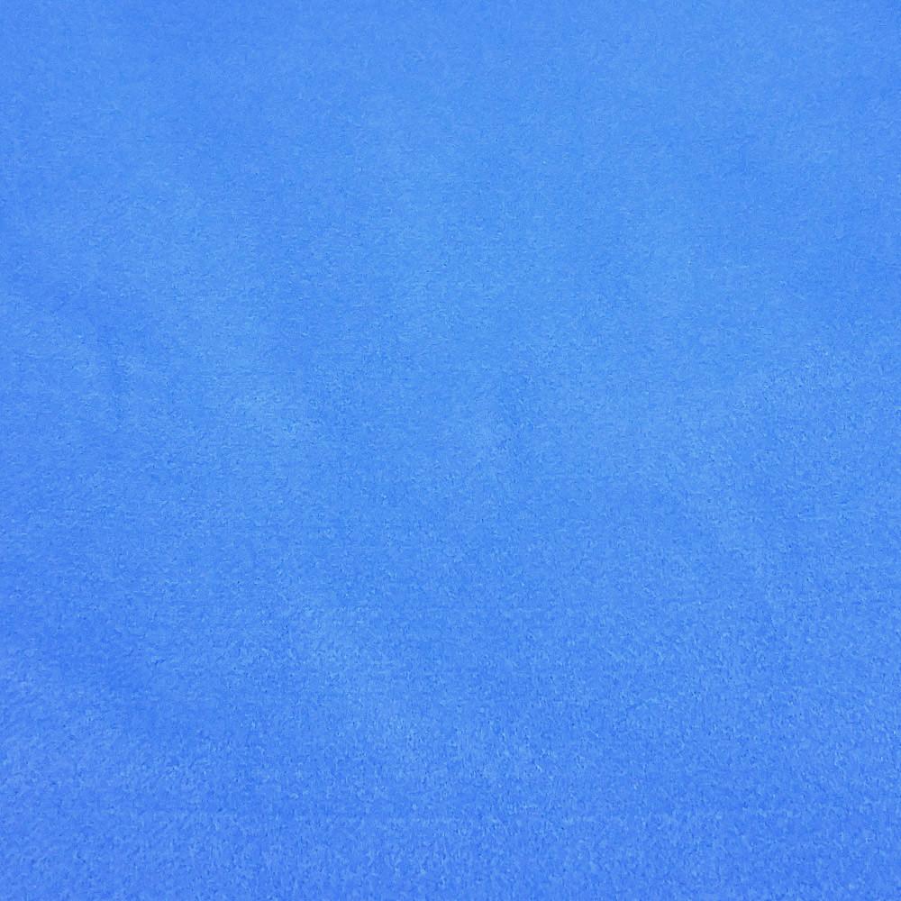 Фетр корейский мягкий 1.2 мм, 22x30 см, СИНЕ-ГОЛУБОЙ