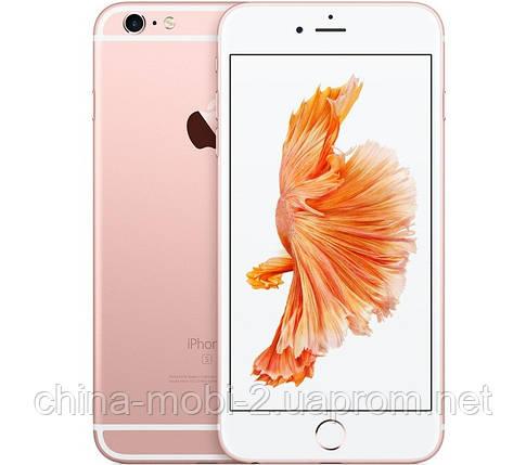 """Точная копия  iPhone 6S Plus - 5.5"""", Android, Wi-Fi, 4Gb, металл, розовое золото, фото 2"""