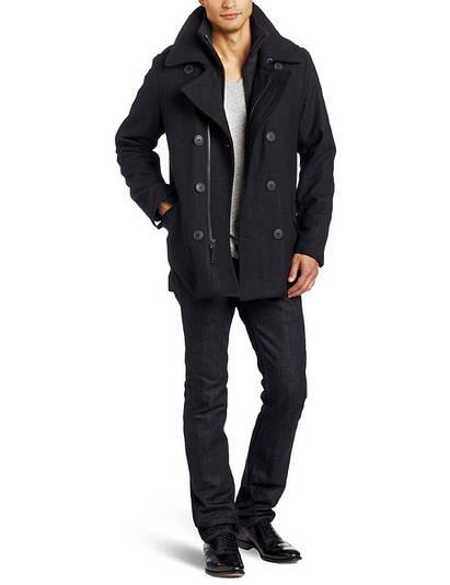 Пальто Levi's Men's Wool Melton Fashion Peacoat