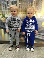 """Детский модный спортивный костюмчик """"Adidas"""" : кофта, штаны (3 цвета)"""