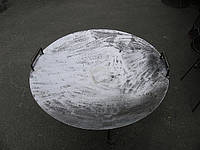Сковорода стальная из диска.