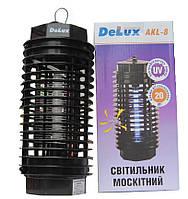 Электронная ловушка для мух и комаров DELUX AKL-08 1*4Вт на 20 м2
