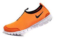 Женские летние кроссовки Nike Free 3.0 V3 оранжевые
