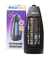 Электронная ловушка для мух и комаров DELUX AKL-12 1*6Вт на 30 м2