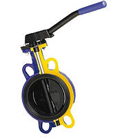 Затвор дисковий поворотний Батерфляй Zetkama тип 497 DN50 PN16