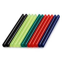 Клеевые стержни цветные 7 мм 12шт Dremel