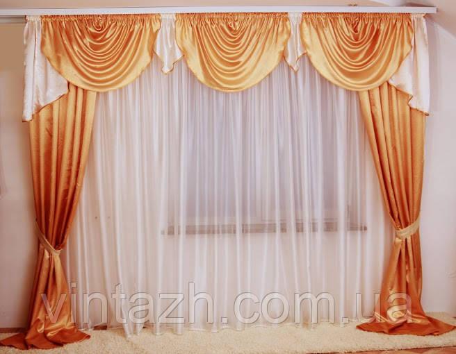 Дешевые шторы в комплекте