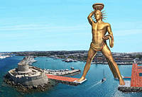 В Греции установят 150 метровую статую Гелиоса на солнечных батареях