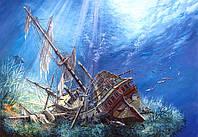 Пазлы Поражённый галеон Castorland 2000, С-200252