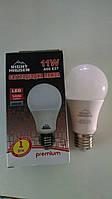 Лампа светодиодная А60, 11Вт, Е27 Right Hausen