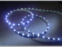 Светодиодная лента бокового свечения 335-60 W IP65 белый черная плата, герметичная, 1м