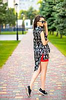 Блуза длинная вискоза, фото 1