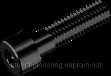 Винт М4х25 с цилиндрической головкой с внутренним шестигранником кл. пр. 12.9 (БП)
