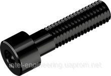 Винт М5х60 с цилиндрической головкой с внутренним шестигранником кл. пр. 12.9 (БП)